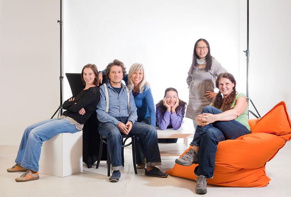 Das Team von Theater Asou, Foto: Dagmar Leis