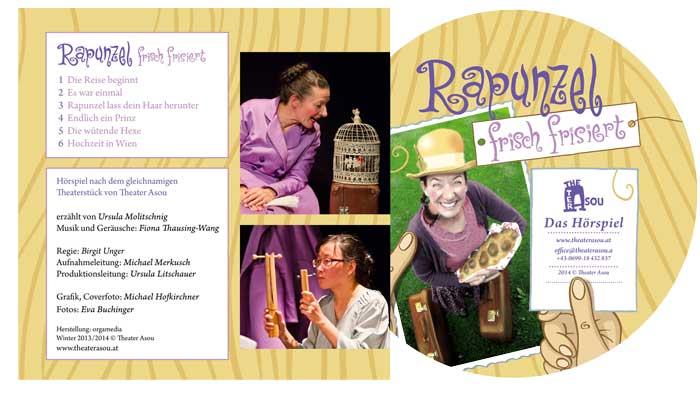 Rapunzel frisch frisiert als Hörbuch erhältlich