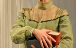 Birgit Unger als Virginia Woolf (c) J. Legat
