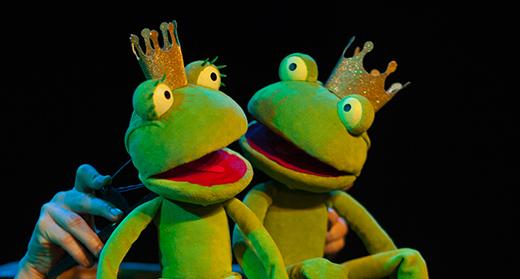 Froschkönigin und -könig