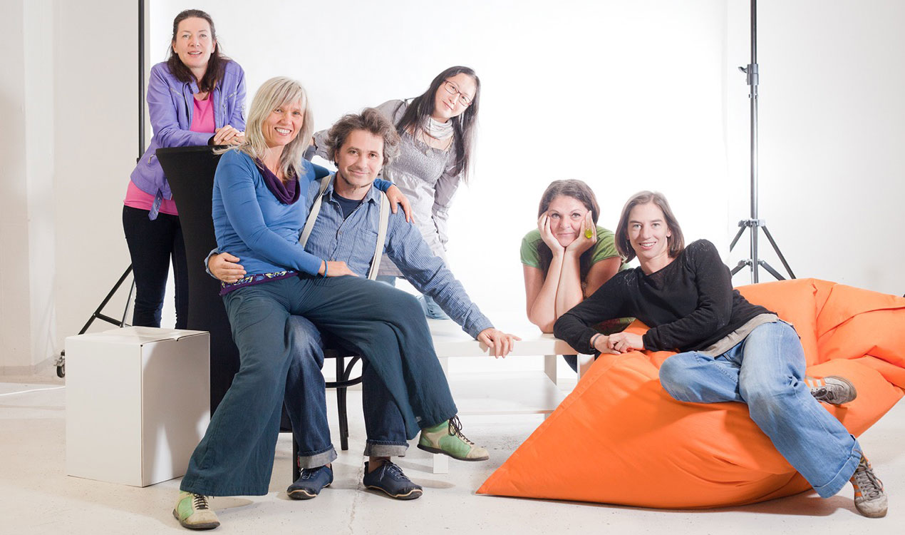 Team von Theater Asou, Foto: Dagmar Leis